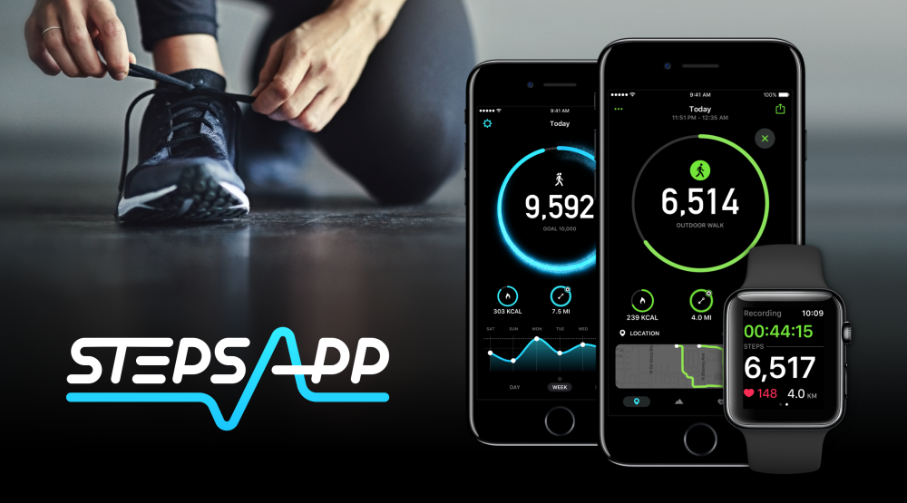 StepsApp - Hero - Workout & Watch